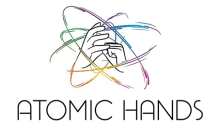 Atomic Hands Logo