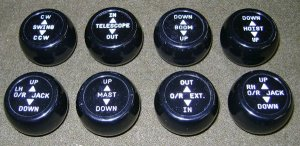Replacement HEMTT Crane Knobs | MV Parts Store Free Shipping On Most Military Truck Parts