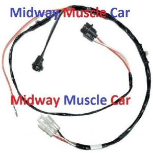 rear floor console wiring harness 64 65 66 Pontiac GTO