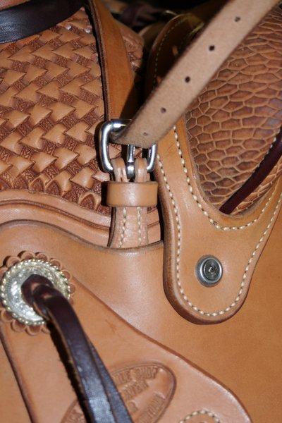 Crossover Rope Strap And Buckle Set Slick Fork Saddle Shop
