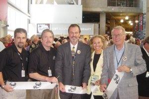 Peter Sullivan, second from left