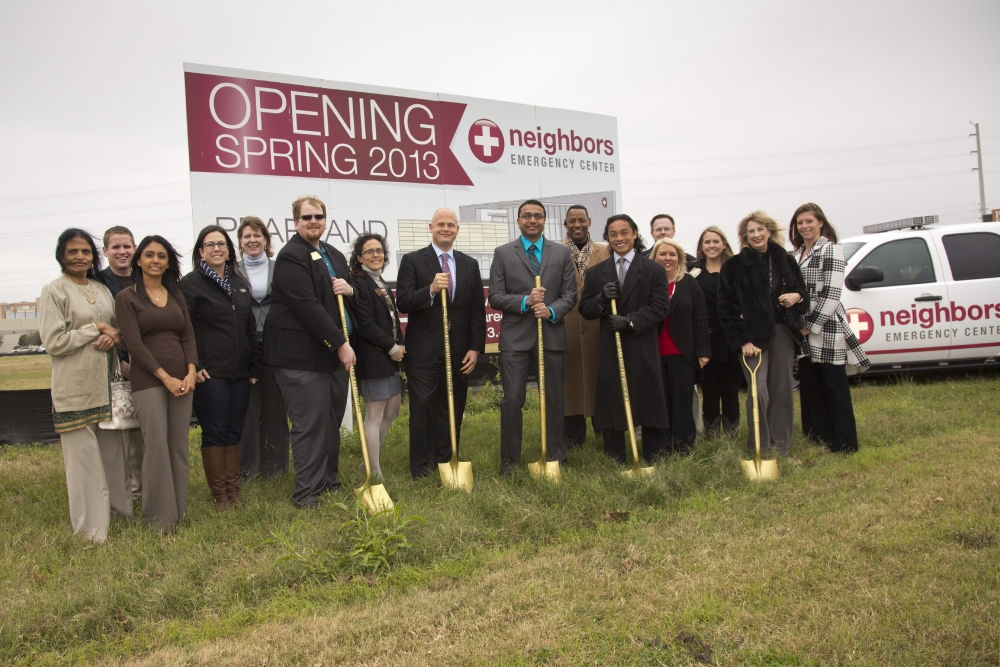 Pearland Groundbreaking Ceremony