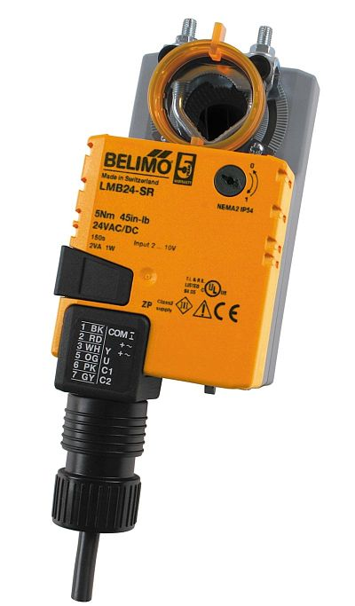 Belimo Actuators Direct Coupled Valve And Damper Actuators