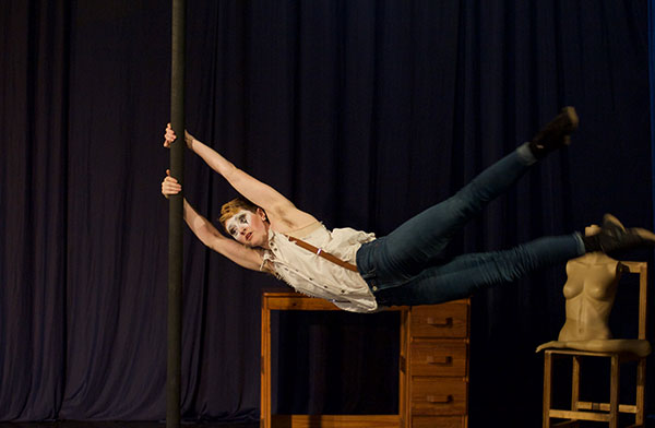 photo of claire horner-richardson, chinese pole and dance coach
