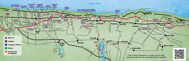 LEWC Winery Map