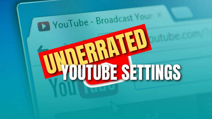Underrated YouTube Settings
