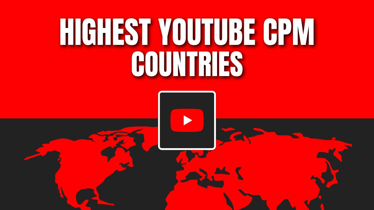 youtube cpm countries