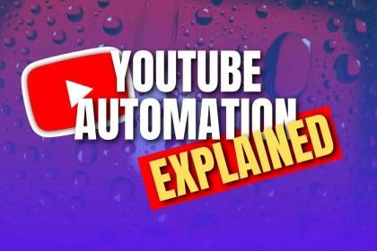 YouTube automation method explained