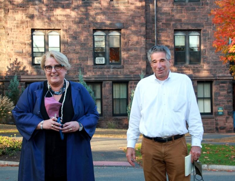 President Sonya Stephens & Larry