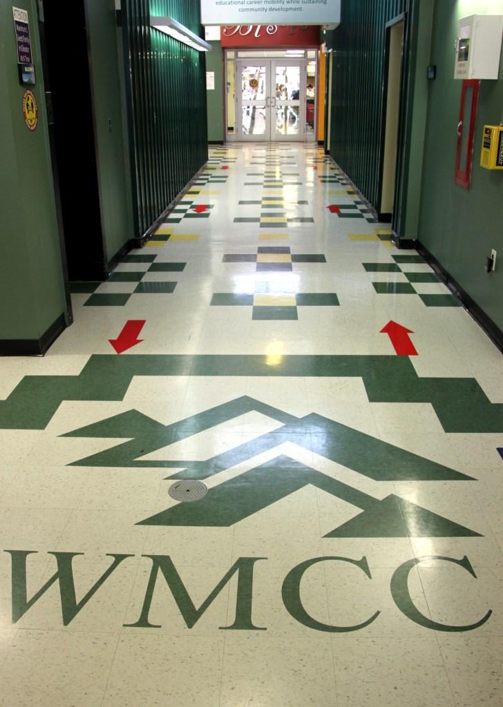 hallway at WMCC