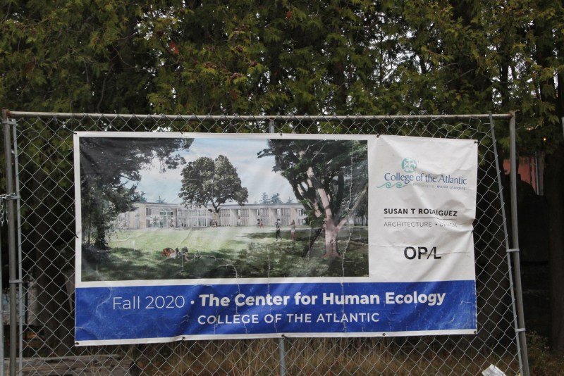 map of the new Center for Human Ecology