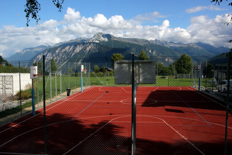 campus outdoor recreation courts