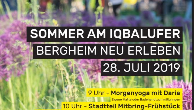 NeckarOrte – Sommerfrühstück Am Iqbalufer