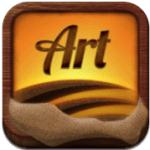 Sand Art|指でなぞると砂粒がリアルに動くPSOFT MOBILE開発の砂絵アートアプリがリリース