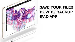 アプリを削除したら元には戻らない!ProcreateなどiPadお絵かきアプリでの不具合対処法とバックアップのすすめ