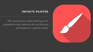 Infinite Painter 2.1 アップデート | 使いやすい日本語対応版リリース。ペインター風の描画が魅力のペイントツール