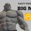 イージーポーザー Easy Poser 1.1.80アップデート | 超人ハルク並みの超マッチョな新モデル「ビッグマン」追加