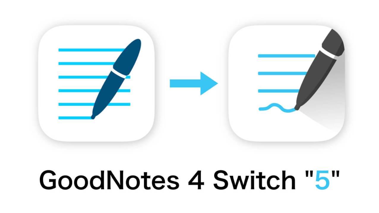 定番のiPad手書きノートアプリGoodNotesに新バージョン「GoodNotes5」がリリース