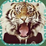 Animal Face   顔にワイルドな動物マスクをかぶせる画像加工アプリ