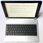 iPad Airをウルトラブックに変えるBluetooth3.0軽量キーボードカバー[レビュー]