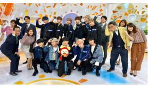 PRODUCE 101 JAPANからデビューした11人のボーイズグループ『JO1』めざましテレビに出演!