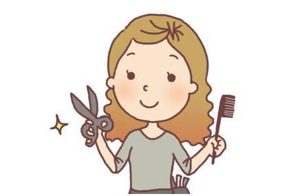 髪を自分で切る。自宅でセルフカットする方法。ハサミや動画をご紹介いたします。
