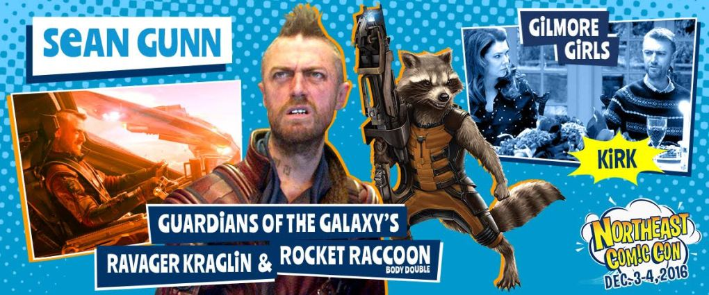 Sean Gunn Guardians of The Galaxy NEComicCon