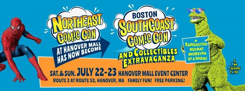 Boston SouthCoast Comic Con in Hanover MA