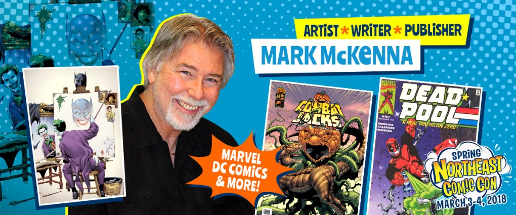 Comic Artist Mark McKenna At NorthEast Comic Con