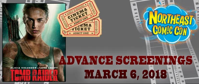 Advance Screenings of Tomb Raider