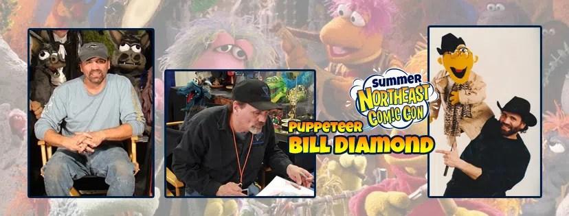 Master of Puppets Bill Diamond Visits the NEComicCon