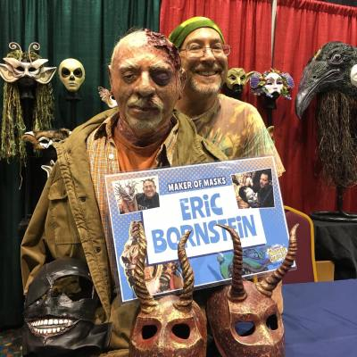Master Mask Maker Eric Bornstein Appears at NEComicCon March 13-15