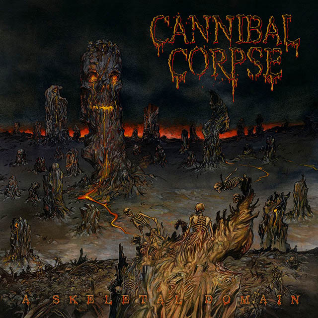 Cannibal corpse - skeletal web