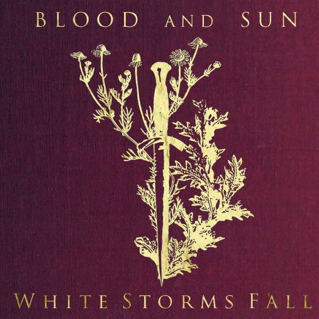 blood and sun - white web