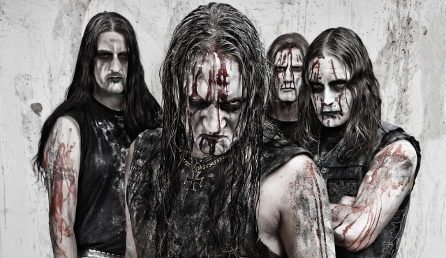 Marduk, march 2012 Left to right: Devo, Mortuus, Lars, Morgan