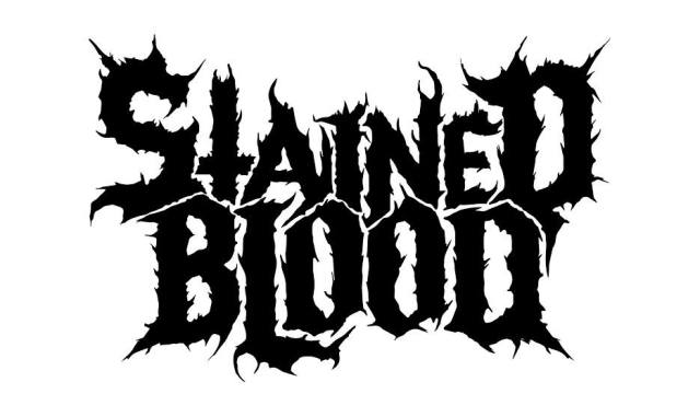 stained blood logo