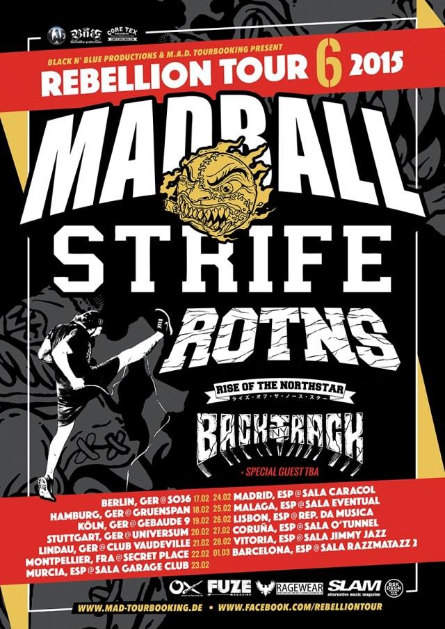 rebellion tour 2015