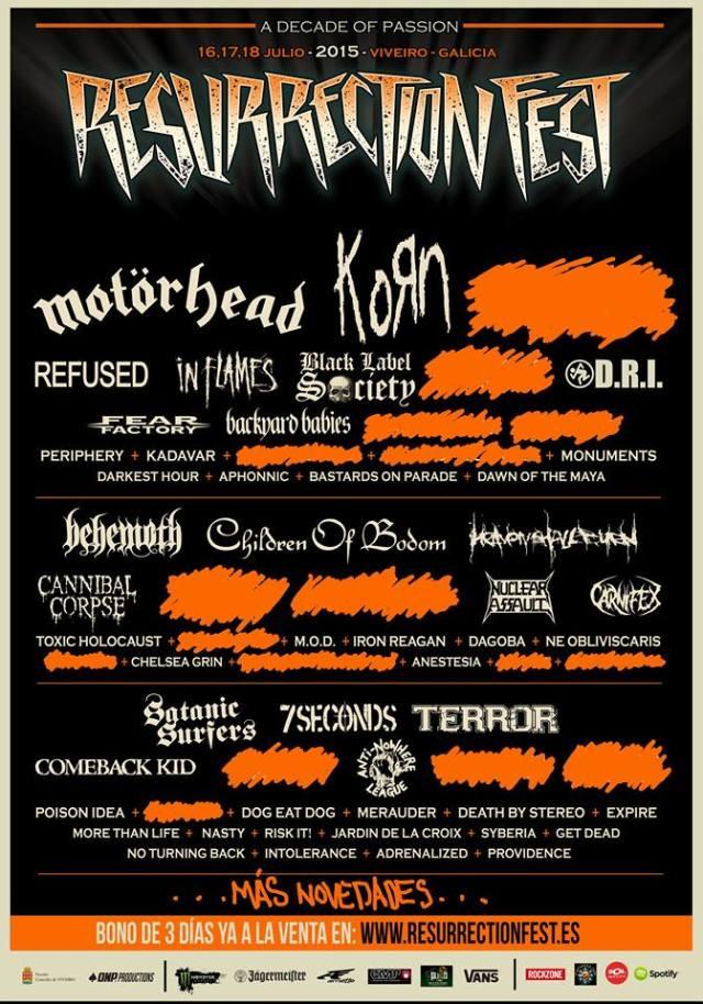 Rock The Coast Festival el nuevo festival de Madness Live!!! Horns Sun Beach - Página 20 Resucartel