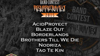Photo of [NOTICIAS] RESURRECTION FEST BAND CONTEST ESTRELLA GALICIA 2015: FINAL ROUND