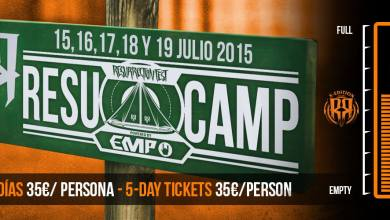 Photo of [NOTICIAS] RESUCAMP 2015, 60% entradas vendidas