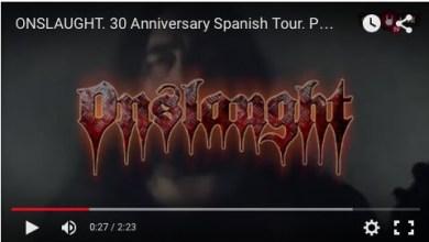 Photo of [GIRAS Y CONCIERTOS] ONSLAUGHT – Promo Video de su próxima gira española (Aurum Management)