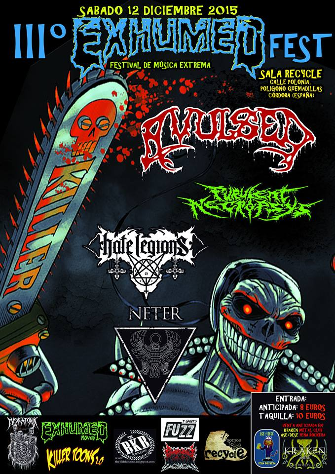 exhumed fest