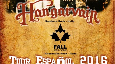 Photo of [GIRAS Y CONCIERTOS] HANGARVAIN + FALL HAS COME – Spanish tour 2016 (Valknut Music Productions)