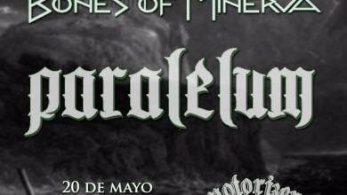 Photo of [GIRAS Y CONCIERTOS] TGDX + BONES OF MINERVA + PARALELUM – Sala Motorizer, 20.05.2016 Madrid
