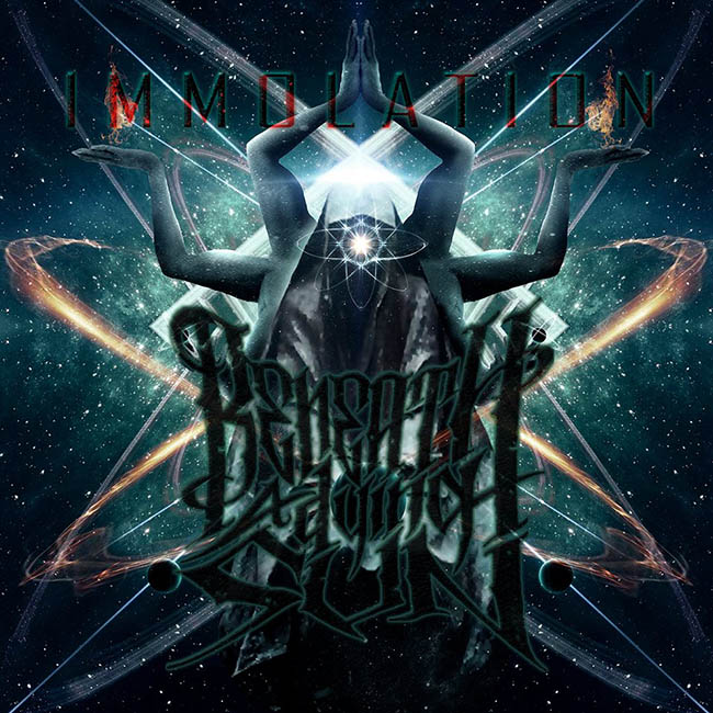 beneath a dying sun - immolation - web