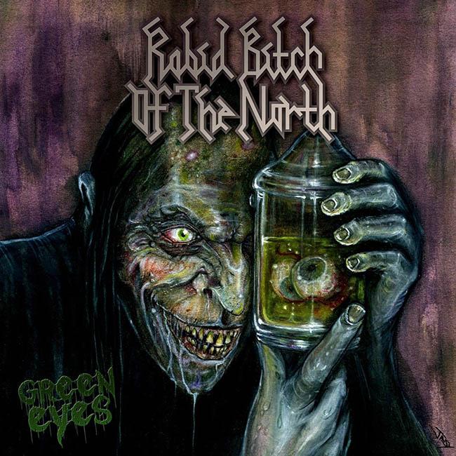 rabid bitch of the north - green - web