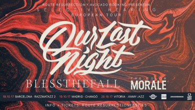 Photo of Nueva Gira Route Resurrection: Our Last Night + blessthefall + The Color Morale – SELECTIVE HEARING EUROPEAN TOUR