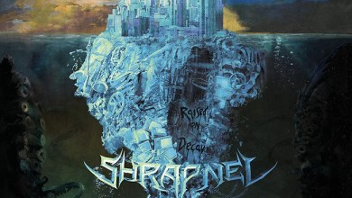 "Photo of SHRAPNEL (GBR) ""Raised on decay"" CD 2017 (Spinefarm Records / Candlelight)"