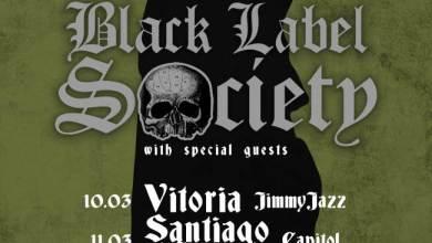 Photo of BLACK LABEL SOCIETY nos visitarán en marzo del 2018