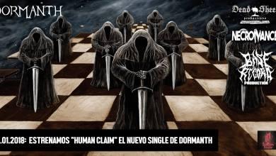 Photo of Estrenamos «Human Claim», el primer single de lo nuevo de DORMANTH